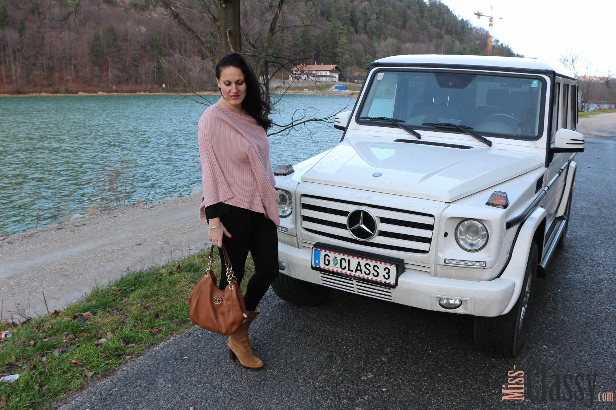 Miss Classy loves the Mercedes-Benz G Class