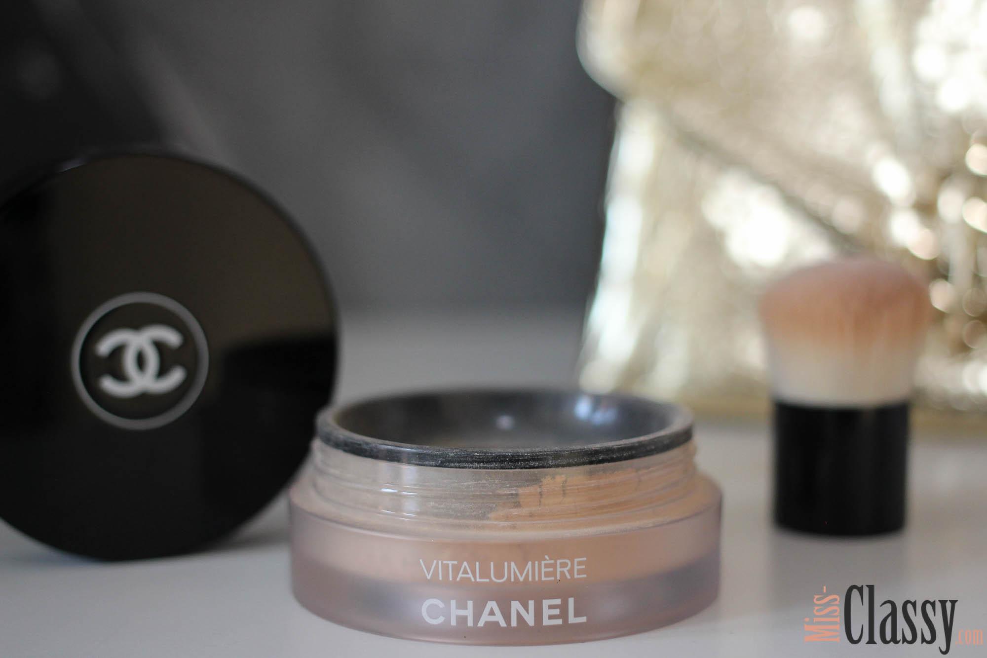 CHANEL - Vitalumiere Loose Powder - Beauty - Cosmetics, Chanel Vitalumiere Loose Powder Erfahrung, Erfahrungsbericht
