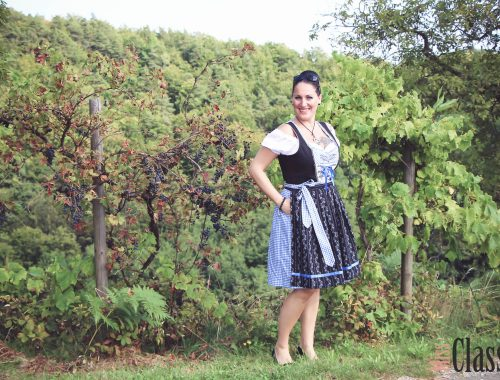 Outfit Dirndl in der südsteirischen Weinstraße - Tracht - Steirische Toskana