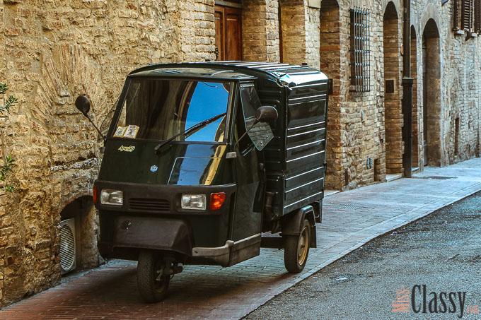 TRAVEL: Italien - Toskana - Tuscany - San Gimignano - Travelblog - Reisebericht - Wayfarer - Wanderlust - Miss Classy - Ape