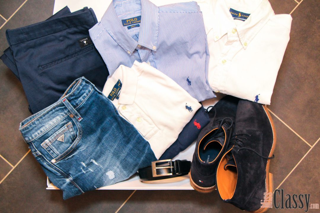 OUTFIT Curated Shopping für meinen Mister Classy, Tommy Hilfiger, Guess, Hugo Boss, Ralph Lauren, Curated Shopping