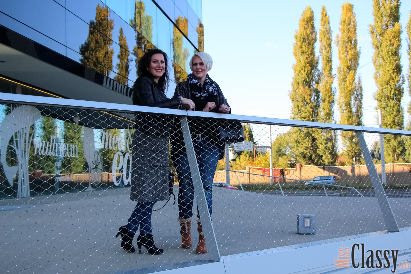 OUTFIT Layering - Longcardigan und Lederjacke, Graz, Steiermark, Miss Classy, miss-classy.com, Herbst, Doris & Babs, Sonnenbrille, Burberry, Vogue, Michael Kors