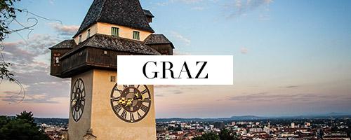 Graz, Graziös, GRAZtastisch, Steiermark, Österreich, Austria, Das grüne Herz Österreichs, Kulturhauptstadt, Genusshauptstadt, Grazer Flair, Schlossberg, Uhrturm, Murinsel, Mur, Kunsthaus, Herrengasse, Schloss Eggenberg