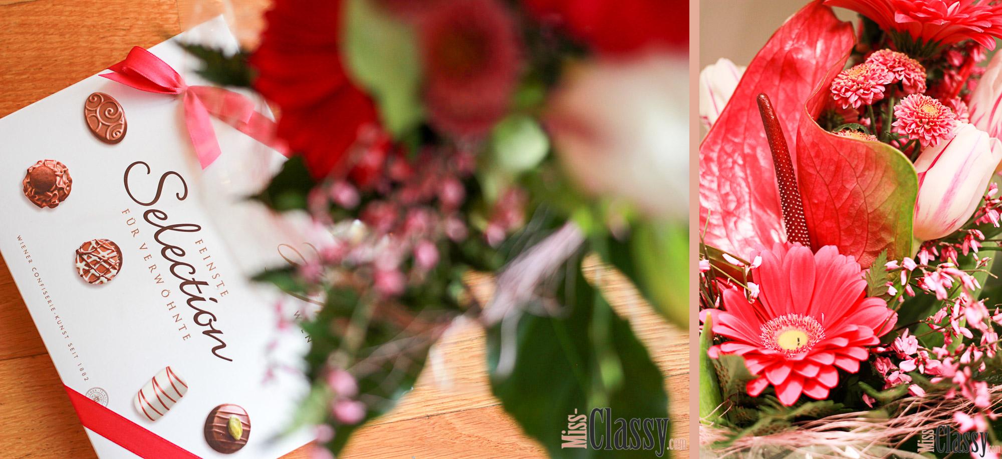 LIFESTYLE Valentinstagsgeschenke Guide, Miss Classy, miss-classy.com, Lifestyle, Lifestyleblog Graz, Lifestyleblogger, Graz, Austria, Steiermark, Österreich, Valentinstag, Tag der Liebe, 14. Februar, Be my Valentine, Blumen, Blumenstrauss, Flowers, Hellweg, Pralinen, Schokolade, Süße Versuchung