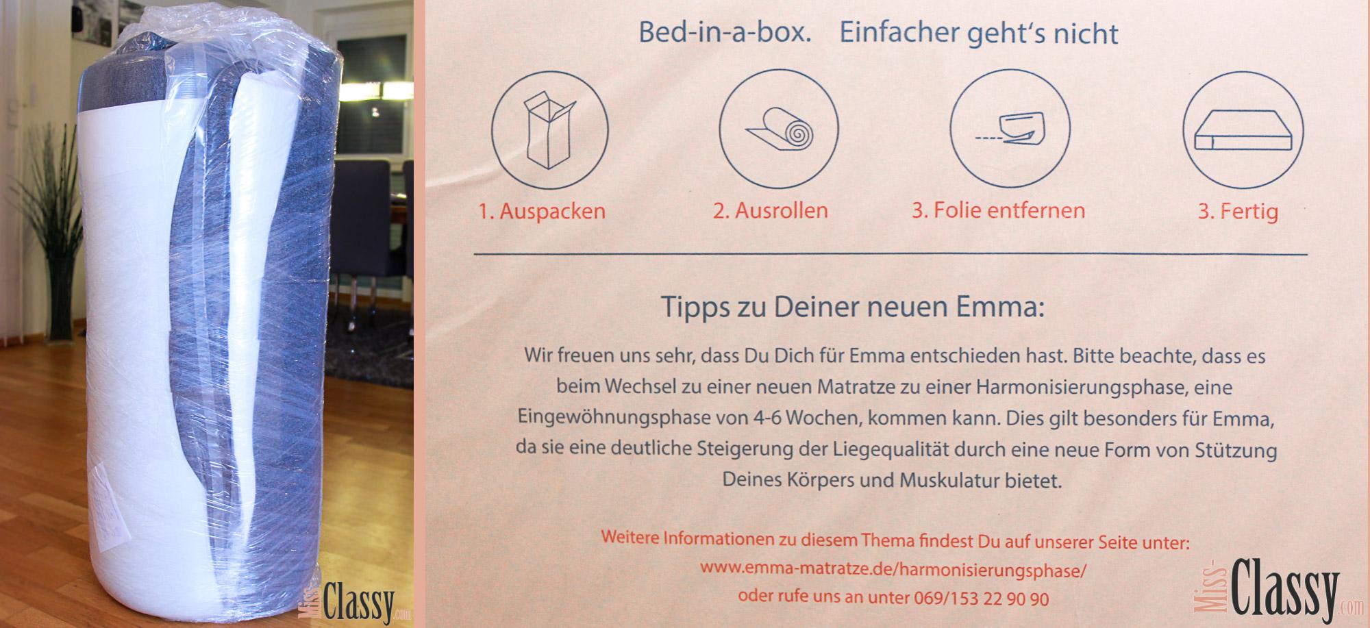 lifestyle im bett mit emma miss classy. Black Bedroom Furniture Sets. Home Design Ideas