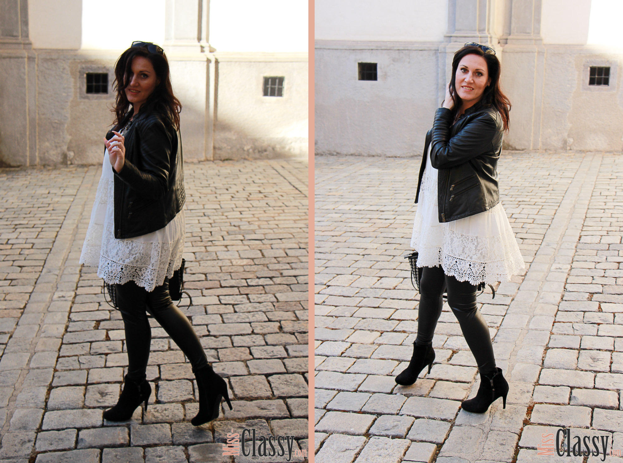 outfit weisses kleid mit spitze mein outfit f r den bloggerbrunch miss classy. Black Bedroom Furniture Sets. Home Design Ideas