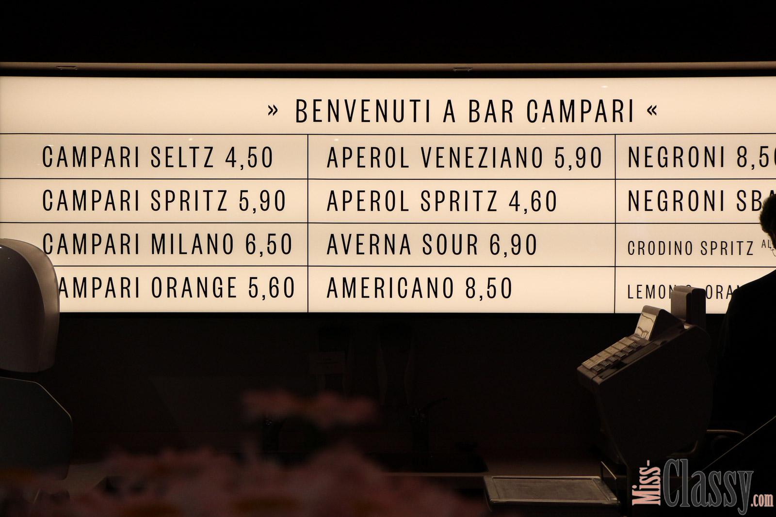 LIFESTYLE Bar Campari im Frankowitsch in Graz, Miss Classy, VIP Opening, Campari Orange, Campari Seltz, Aperitivo, Graz, Delikatessen, Brötchen, Patisserie