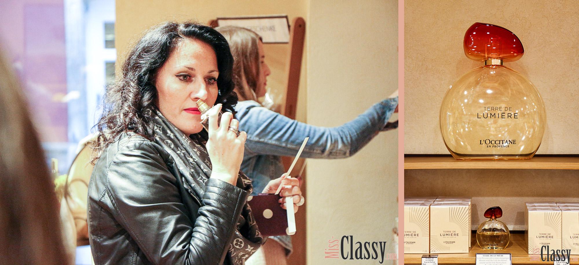 LIFESTYLE: L'Occitane en Provence feiert den 20. Geburtstag in Graz, Miss Classy, Lifestyle Blog, Beauty Blog, Graz, Steiermark, Österreich, classy, beclassy, Provence, Kosmetik, Parfum, Gesichtspflege, Store, Shop, Lavendel, Bloggerevent, Miss Classy, Doris, Terre de Lumière