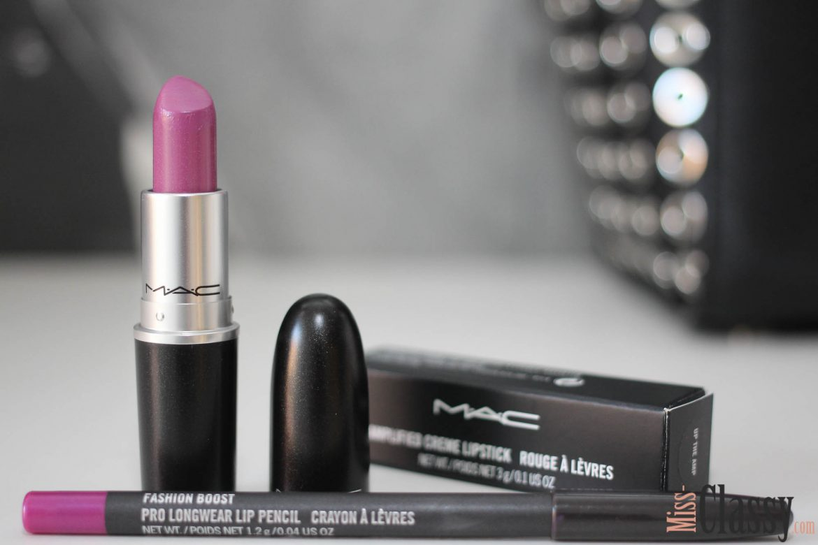 BEAUTY: MAC Cosmetics Lippenstift - Up the Amp, Miss Classy, Grazer Beauty Blog, Lifestyle Blog, Blogger Graz, Beauty, Kosmetik, Lippenstift, MAC Cosmetics, Up the Amp, Amplified Finish, Lippenstift Tragefoto, Lippen, Lipliner Fashion Boost