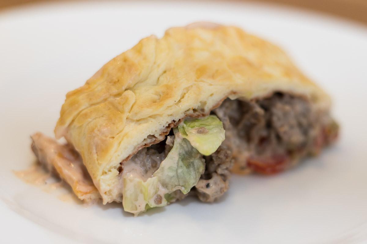 Big Mac Rolle - Low Carb Rezept, Rezept, gesund Essen, gesund Ernähren, Foodblog, Miss Classy