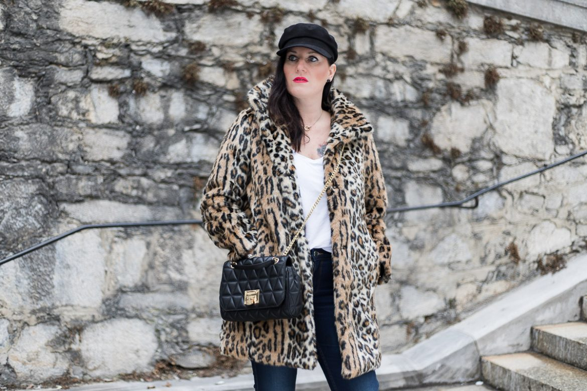Leo Mantel aus Faux Fur, Baker Boy, Michael Kors Handtasche, Fashion Blog, Mode Blog, Blogger Graz, Fashion Blog Graz, Miss Classy