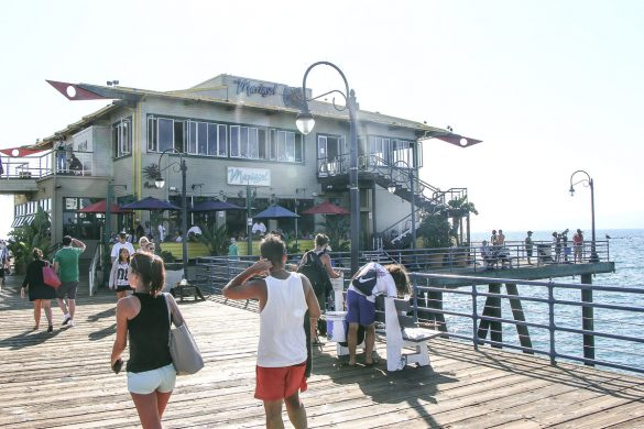 Santa Monica Pier, Los Angeles – City of Angels, USA, Reise Blog, Reisebericht, Westküste, Roadtrip, Kalifornien, Miss Classy