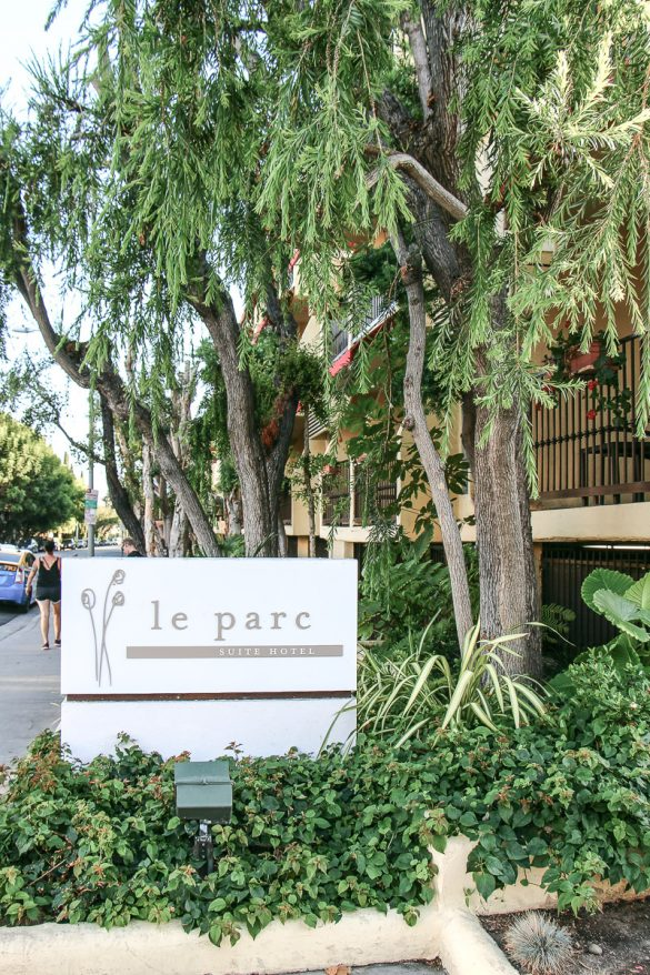Le Parc Suite Hotel West Hollywood, Los Angeles – City of Angels, USA, Reise Blog, Reisebericht, Westküste, Roadtrip, Kalifornien, Miss Classy