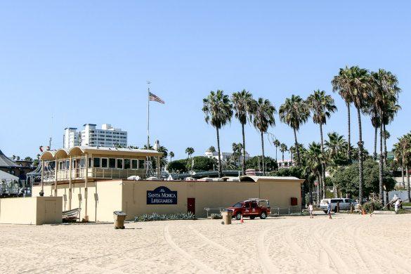 Santa Monica Lifeguards, Los Angeles – City of Angels, USA, Reise Blog, Reisebericht, Westküste, Roadtrip, Kalifornien, Miss Classy