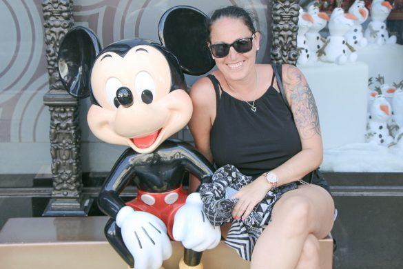 Walk of Fame, Mickey Mouse and Miss Classy, Los Angeles – City of Angels, USA, Reise Blog, Reisebericht, Westküste, Roadtrip, Kalifornien, Miss Classy