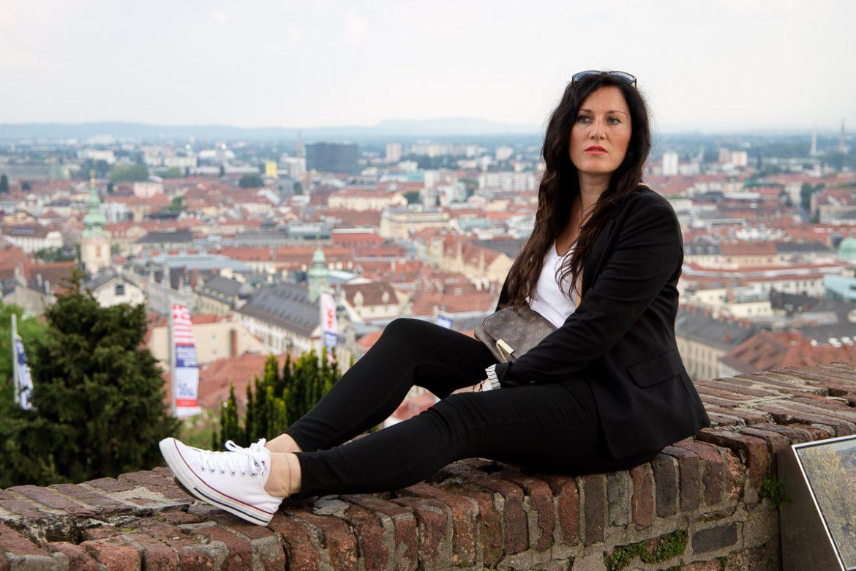 Schwarzer BBW Ms Hügel