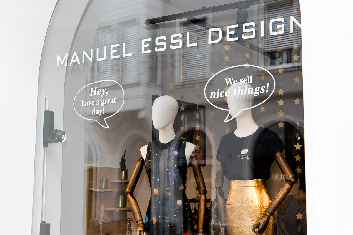 Manuel Essl Design - Neue Kollektion LOOK INTO SPACE, Fashiondesigner, MED, Designed in Graz, Made in Graz, Fashion Blog, Blogger Graz, Blog Graz, Miss Classy