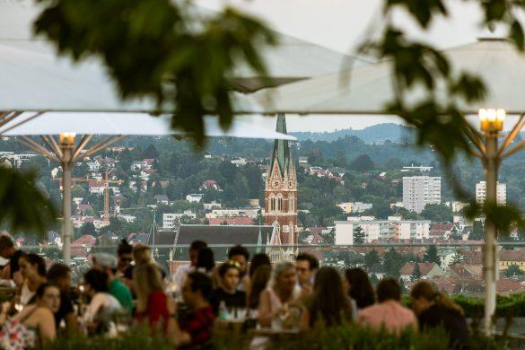 Aiola Upstairs, Über den Dächern von Graz - Lokale mit den schönsten Ausblicken über die Genusshauptstadt, Miss Classy, Lifestyle Blog Graz, Graz, Steiermark