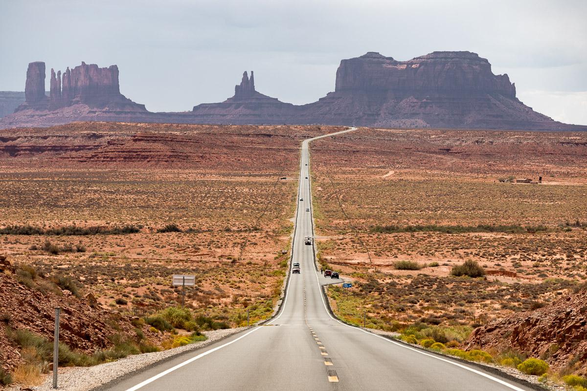 Monument Valley - USA Westküsten Roadtrip 2018 - 3 Wochen Abenteuer - Route, Infos & Kosten