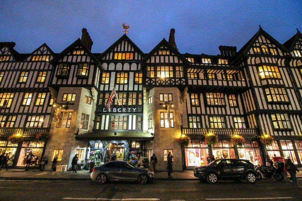 Liberty, London - Kurztrip in die britische Metropole, Reiseblog, Travelblog, Reise, Reisetagebuch, Miss Classy