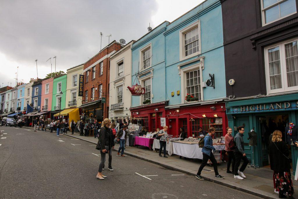 Notting Hill, Portobello Market, London - Kurztrip in die britische Metropole, Reiseblog, Travelblog, Reise, Reisetagebuch, Miss Classy