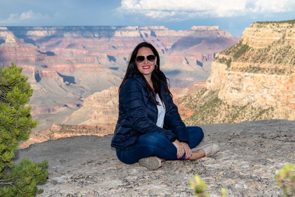 Grand Canyon Sonnenuntergang - USA Westküsten Roadtrip 2018 - 3 Wochen Abenteuer - Route, Infos & Kosten