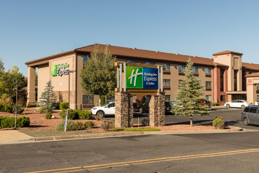 Holiday Inn Express Grand Canyon, Tusayan, Grand Canyon Sonnenuntergang - USA Westküsten Roadtrip 2018 - 3 Wochen Abenteuer - Route, Infos & Kosten