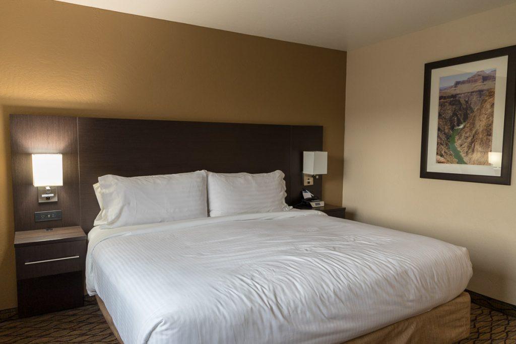 Holiday Inn Express Grand Canyon, Tusayan, Grand Canyon Sonnenuntergang - USA Westküsten Roadtrip 2018 - 3 Wochen Abenteuer - Route, Infos & Kosten