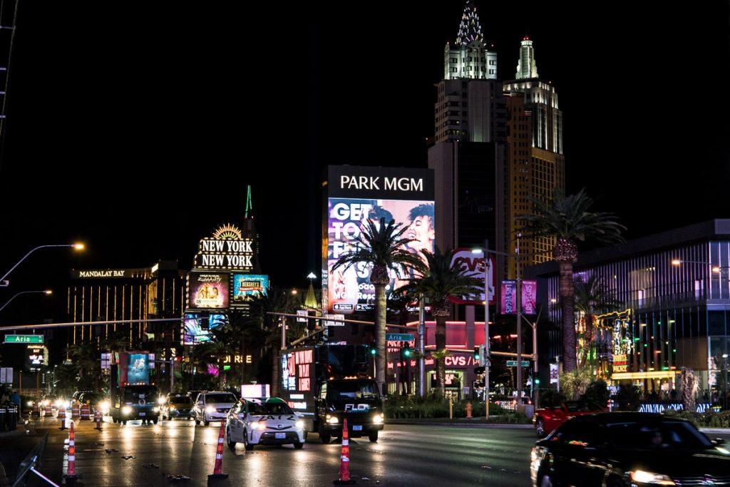 Las Vegas - USA Westküsten Roadtrip 2018 - 3 Wochen Abenteuer - Route, Infos & Kosten