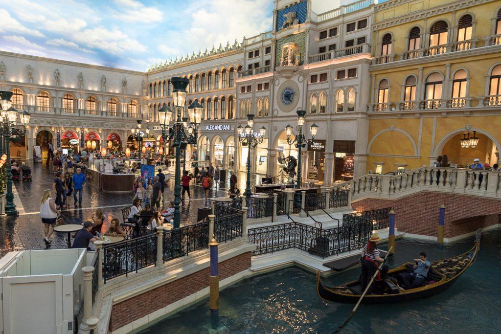 The Venetian, Resort - Hotel- Casino, Las Vegas - USA Westküsten Roadtrip 2018 - 3 Wochen Abenteuer - Route, Infos & Kosten