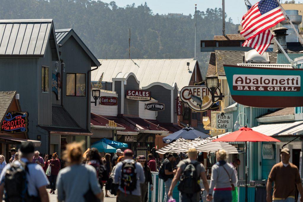 Monterey - Cannery Row - USA Westküsten Roadtrip 2018 - 3 Wochen Abenteuer - Route, Infos & Kosten