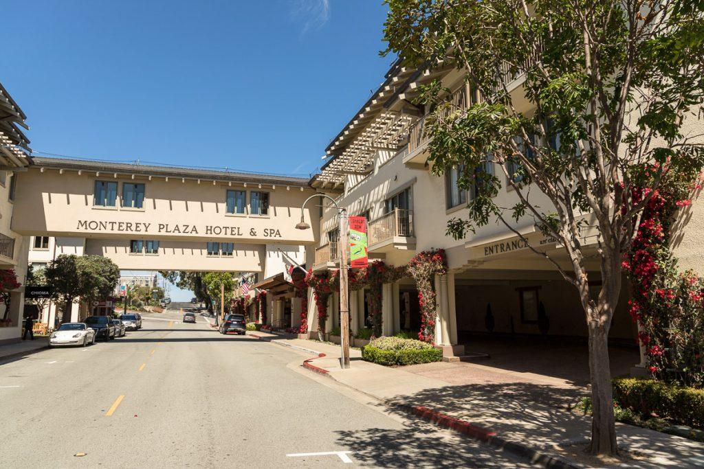 Monterey Plaza Hotel & Spa, Monterey - Cannery Row - USA Westküsten Roadtrip 2018 - 3 Wochen Abenteuer - Route, Infos & Kosten