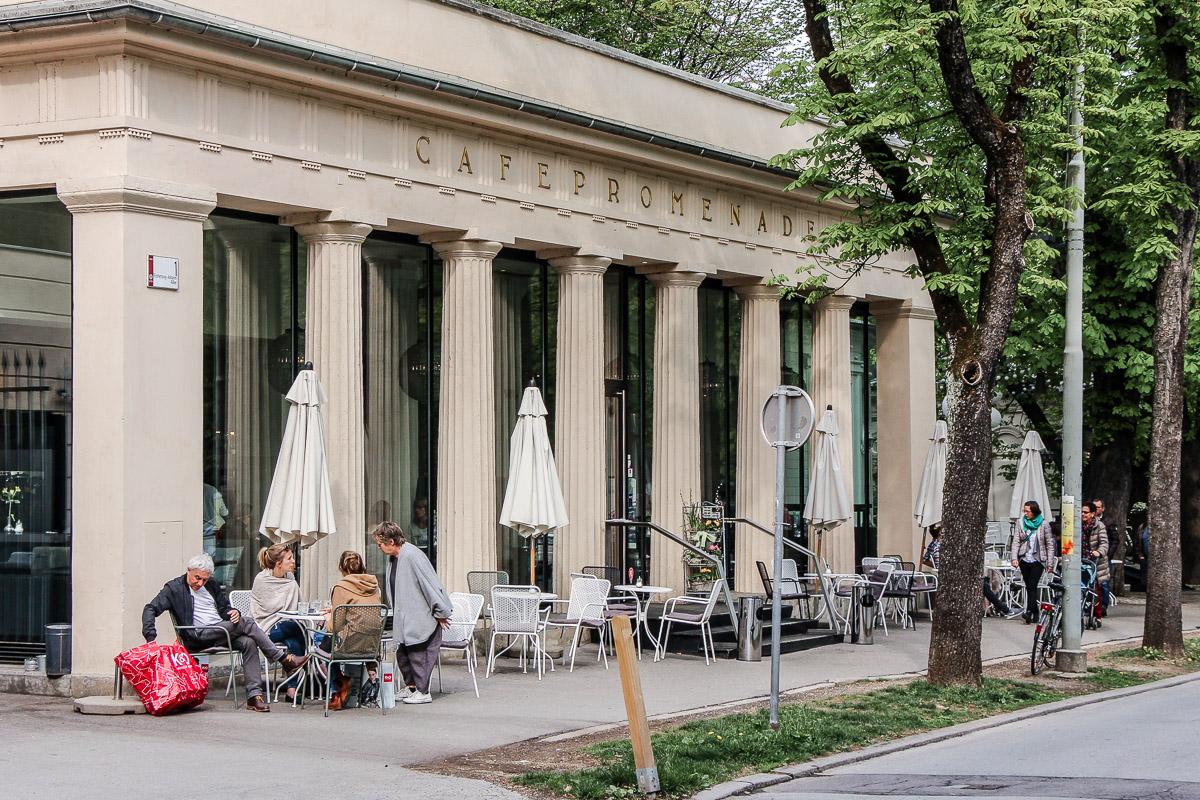 Café Promenade Graz - Aiola - Essen und Trinken in Graz – Restaurant Tipps für die Genusshauptstadt