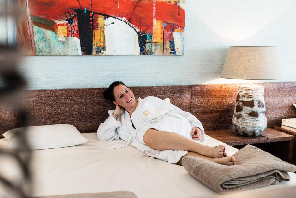 Wasserbett im Ruheraum, Romantik Hotel im Park – Genuss Stil und Spa in Bad Radkersburg