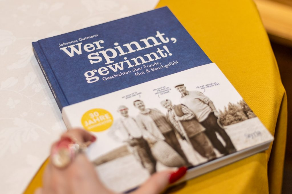 Wer spinnt, gewinnt! - Sonnentor im Murpark Graz - BIO Talk mit Johannes Gutmann