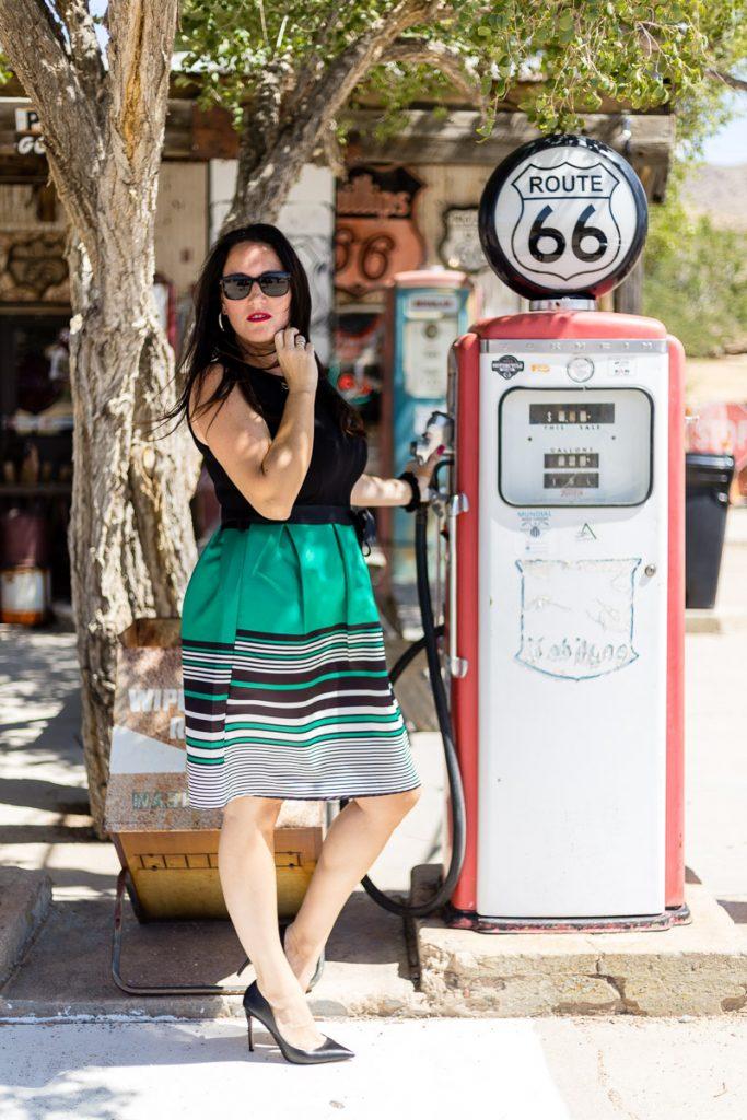 Sommerkleid vonNumber One Graz an der Route 66 - italienische Mode kaufen in Graz // Graz Blog, www.miss-classy.com #numberone #italienischemode #graz #fashion #italien #modeparadies #route66