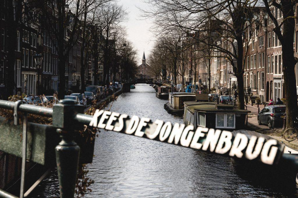 Amsterdam Reiseblog - Prinsengracht, Kees de Jongenbrug