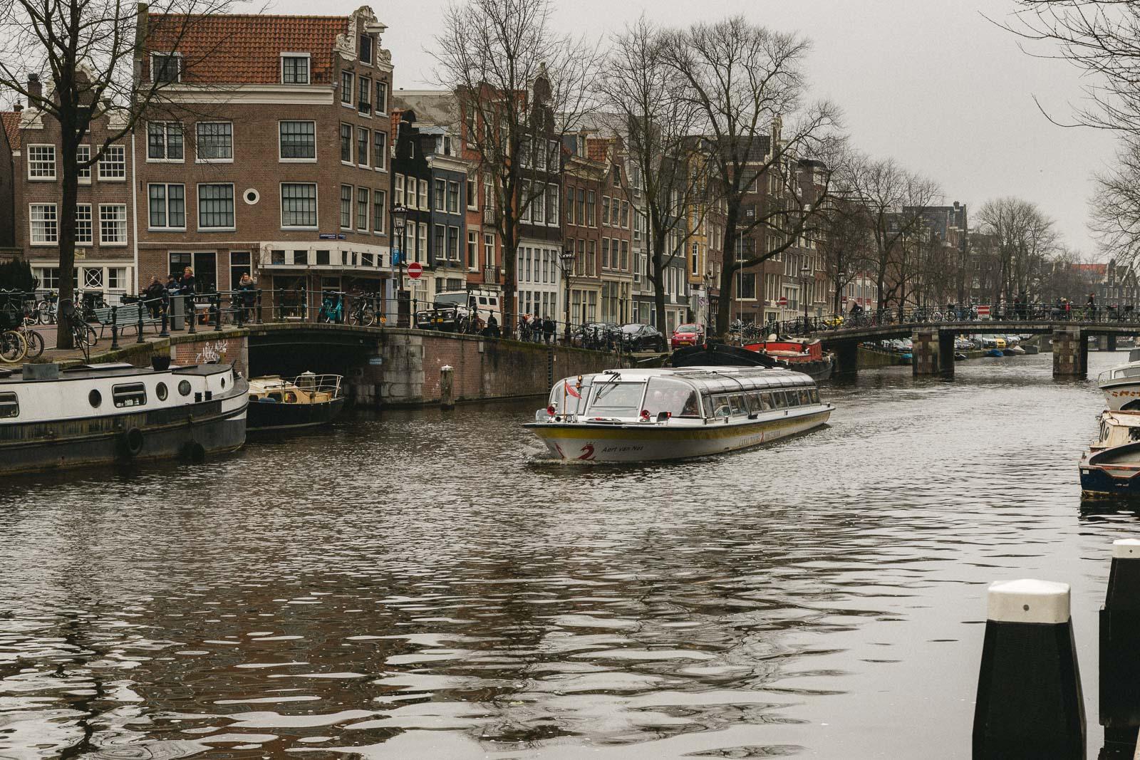 Amsterdam Reiseblog - Grachtenrundfahrt