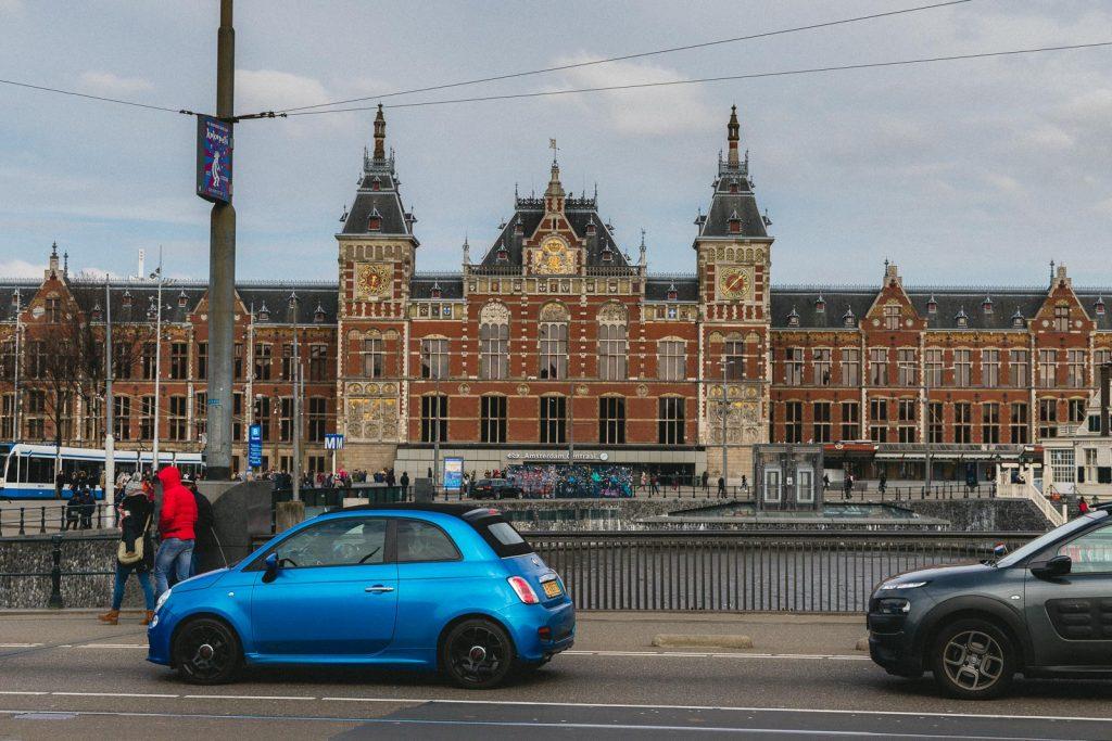 Amsterdam Reiseblog - Centraal, Bahnhof