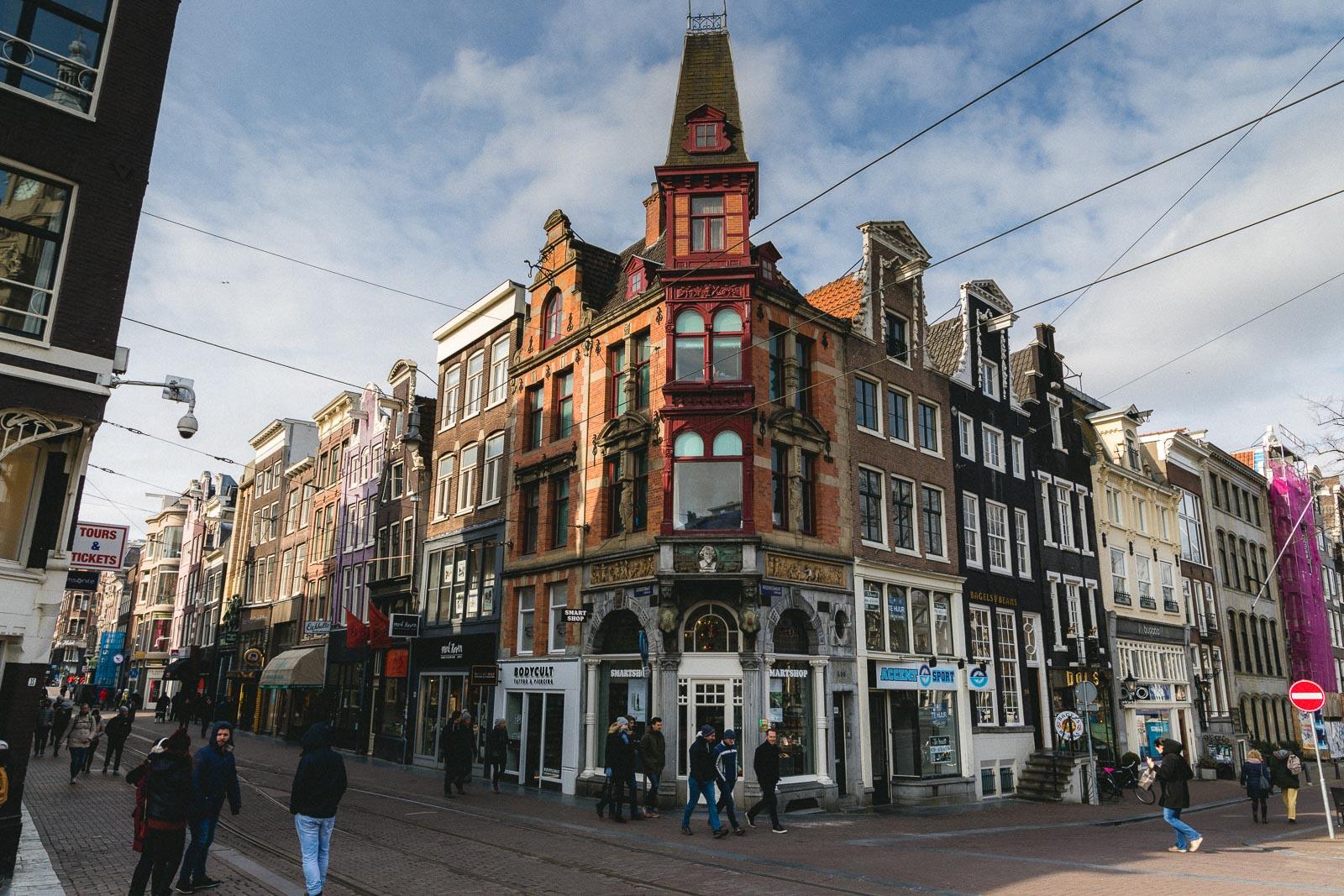 Amsterdam Reiseblog - Leidestraat