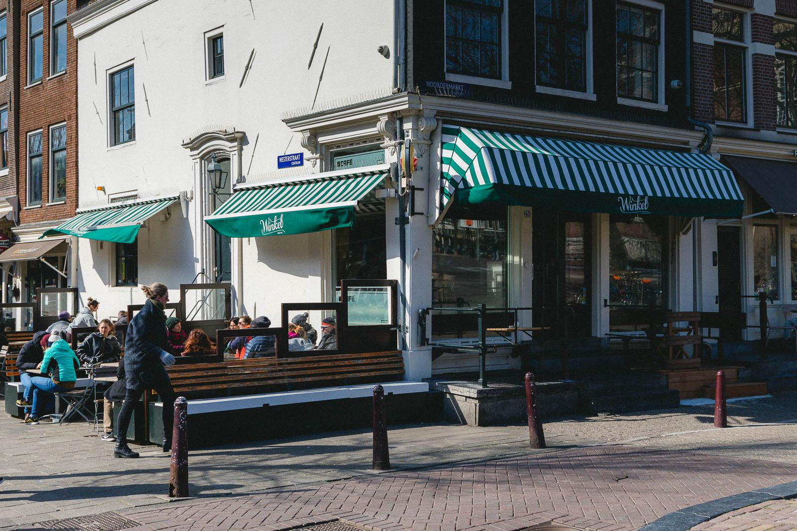 Amsterdam Reiseblog - Cafe Winkel