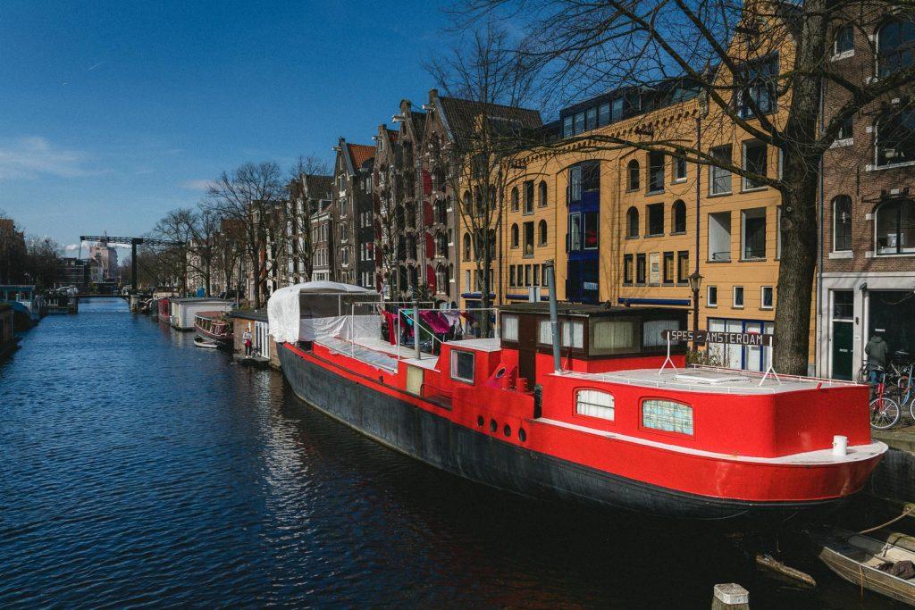 Amsterdam Reiseblog - Hausboot