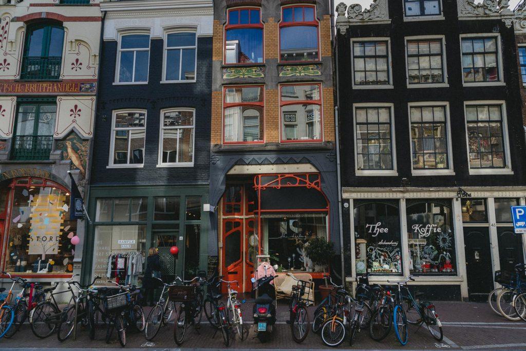 Amsterdam Reiseblog, Jordaan, Haarlemmerdijk