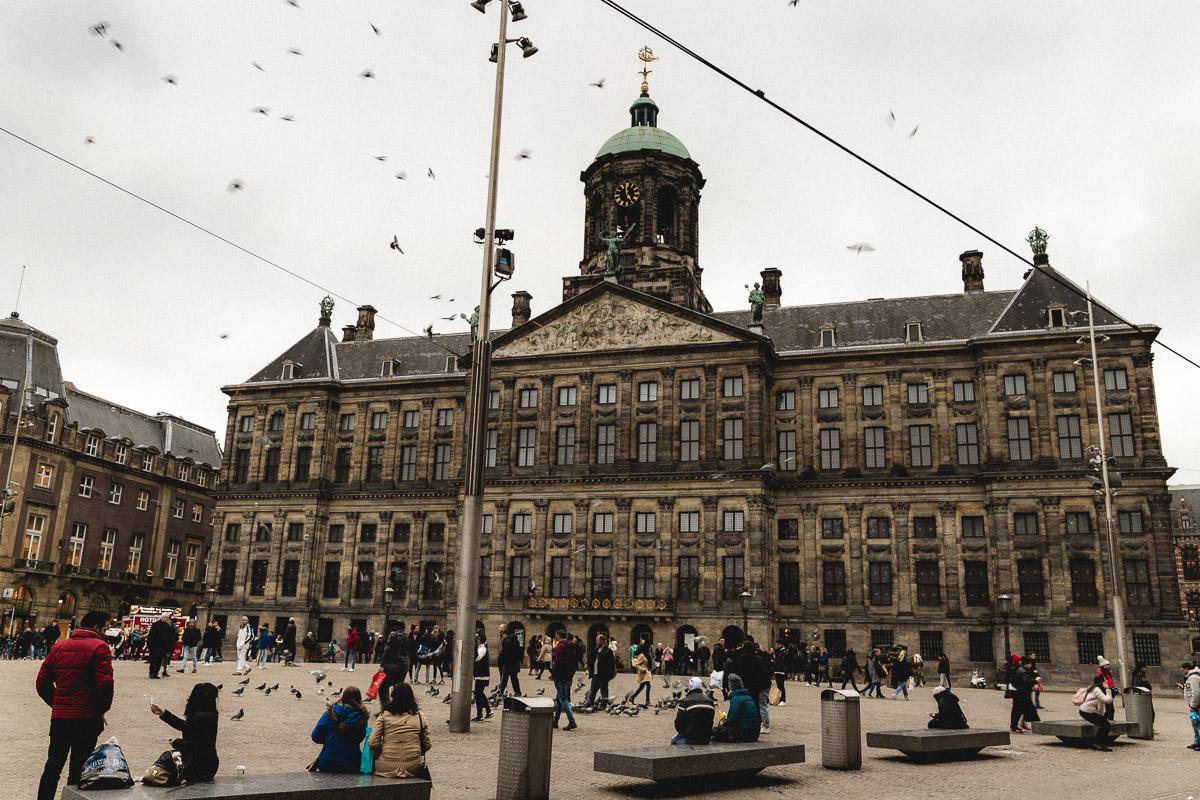 Amsterdam Reiseblog - De Dam