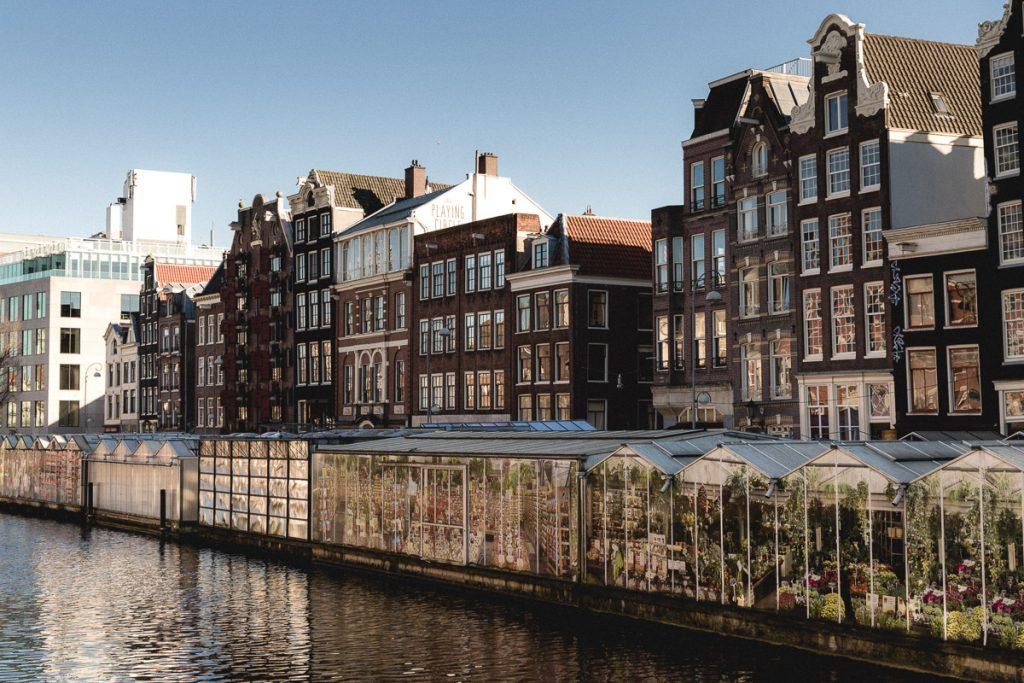 Amsterdam Reiseblog - Blumenmarkt, Singelgracht