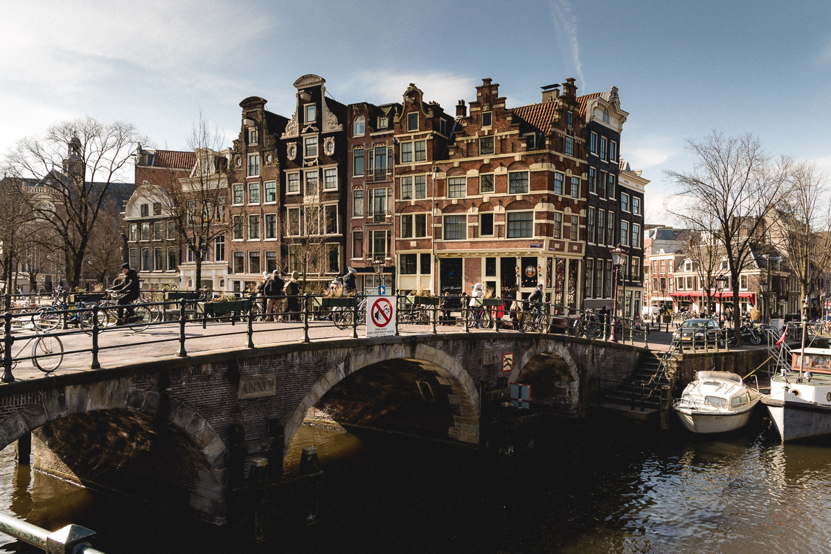 Amsterdam Reiseblog - Lekkeresluis