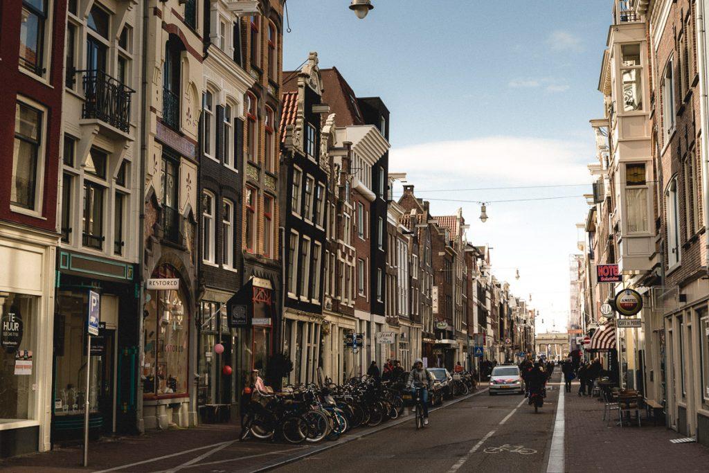 Amsterdam Reiseblog - Jordaan, Haarlemmerdijk