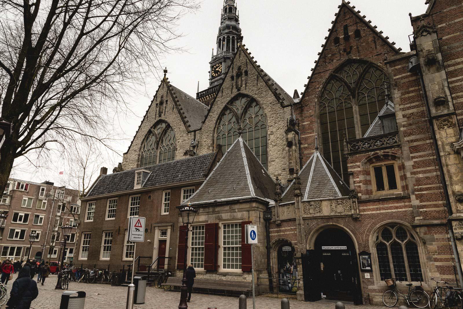 Amsterdam Reiseblog - De Wallen, Oude Kerk