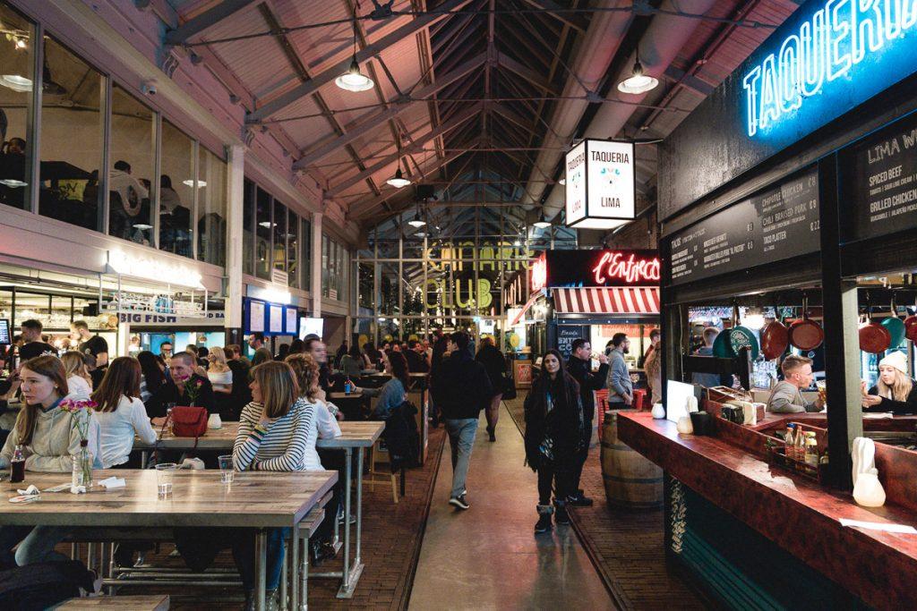 Amsterdam Reiseblog - Essen in Amsterdam, Foodhallen