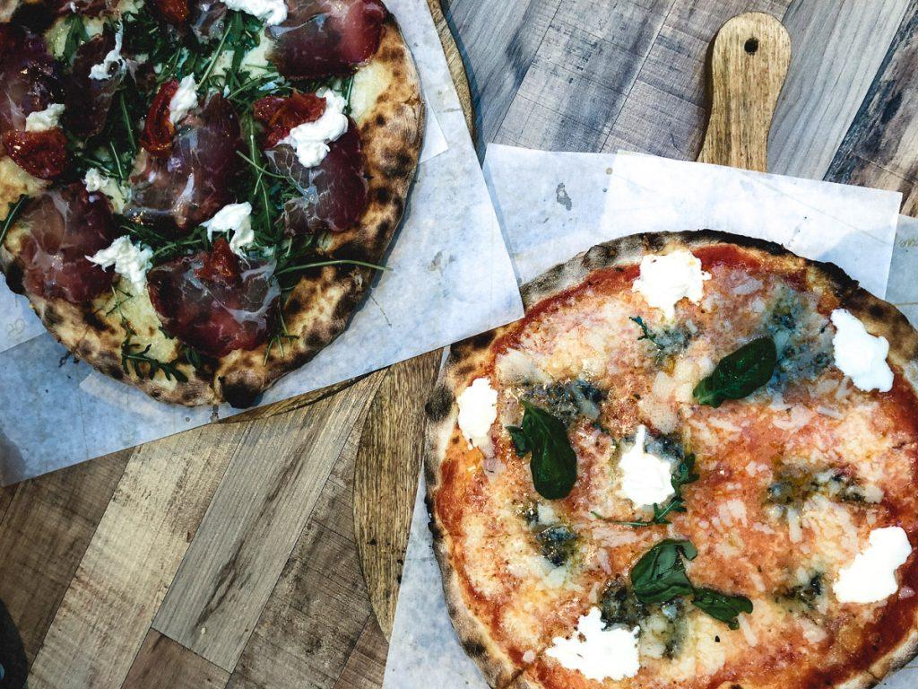 Amsterdam Reiseblog - Essen in Amsterdam, Foodhallen, Renatos Pizzeria